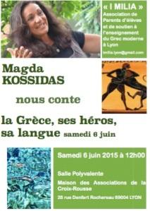 Affiche Magda